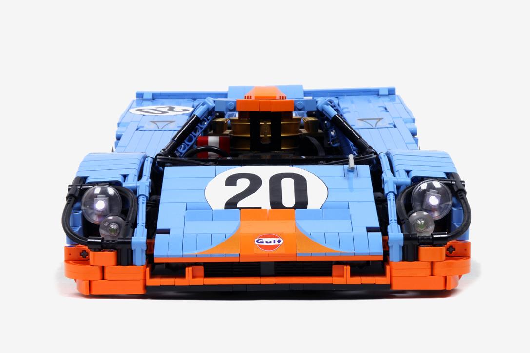 Polak Zbudował Wierną Replikę Porsche 917k Z Klocków Lego Sznytpl