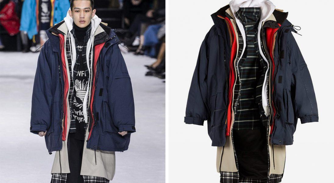 Siedem warstw za ponad 27 tysięcy złotych. Tak wygląda zimowa kurtka od Balenciagi