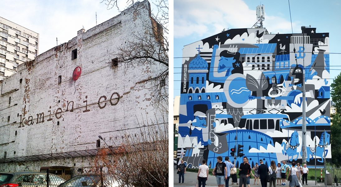 10 murali na warszawskiej Woli, które trzeba zobaczyć