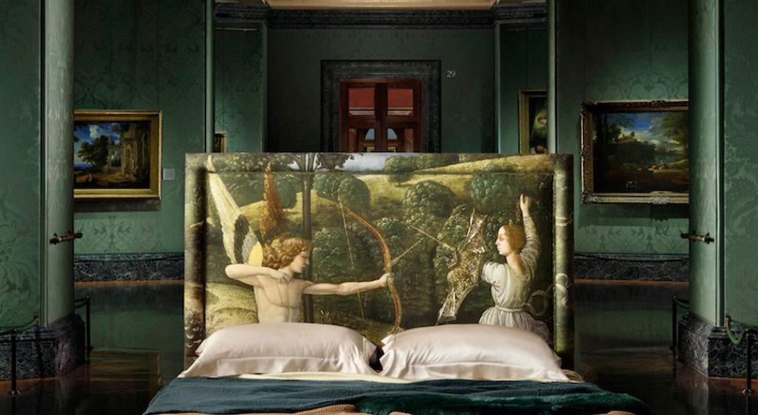 Narodowa Galeria Sztuki w Londynie nawiązała współpracę... z producentem łóżek