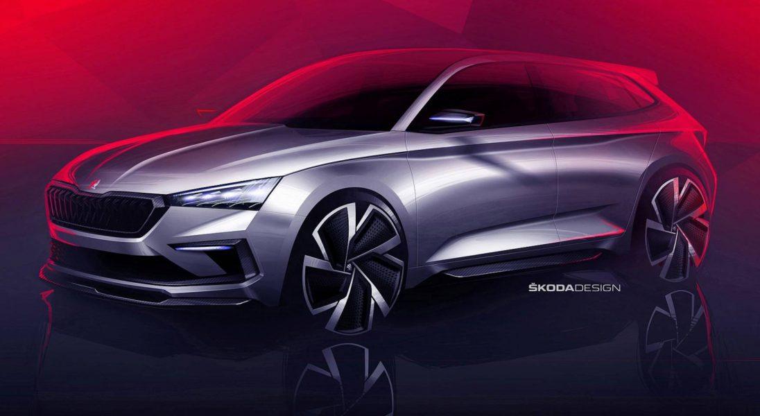 Škoda prezentuje pierwsze szkice swojego kompaktowego hatchbacka