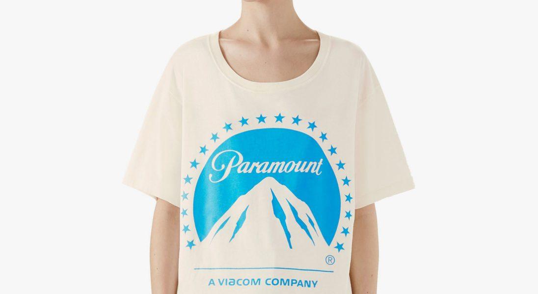 e641e6eae3 Gucci wypuszcza kolejny hit. Koszulka z logo Paramount podbija Internet