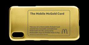 Karta McGold zapewni jednej osobie darmowe jedzenie z McDonald's do końca życia