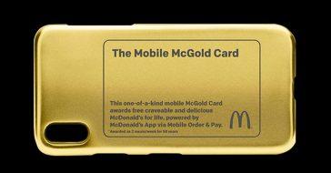 Karta McGold zapewni jednej osobie darmowe jedzenie z McDonalds do końca życia