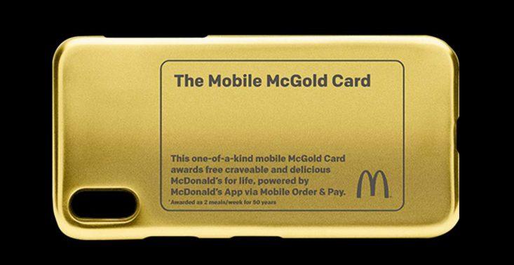 Karta McGold zapewni jednej osobie darmowe jedzenie z McDonald&#039;s do końca życia<