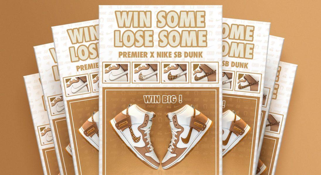 Nike wypuszcza buty zainspirowane losami na loterii