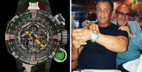 Ekstremalny zegarek projektu Sylvestra Stallone'a, który pomieści... tabletki do oczyszczania wody