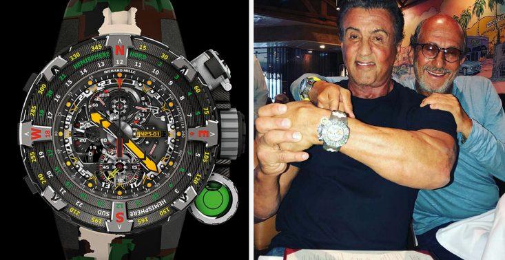 Ekstremalny zegarek projektu Sylvestra Stallone&#039;a, kt&oacute;ry pomieści... tabletki do oczyszczania wody<