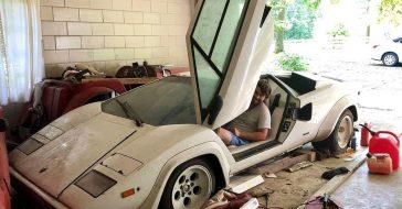 Wchodzisz do garażu swojej babci, a tam... Lamborghini Countach z 1981 roku