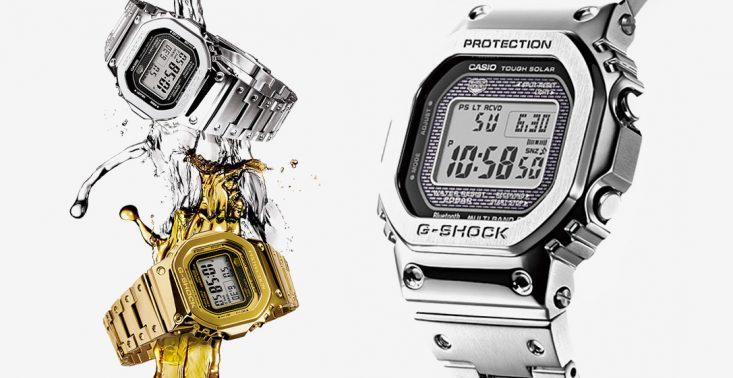 Full Metal G-Shock - tak wygląda niezniszczalny zegarek od marki Casio<