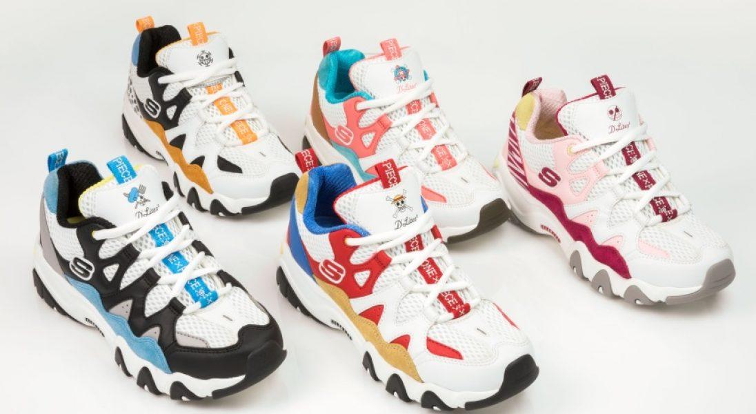 """Nowe sneakersy Skechers - połączenie trendu na """"dad shoes"""" i inspiracje japońską mangą"""