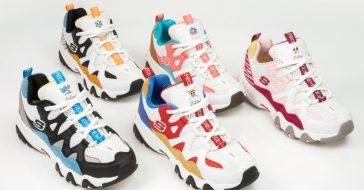Nowe sneakersy Skechers - połączenie trendu na dad shoes i inspiracje japońską mangą