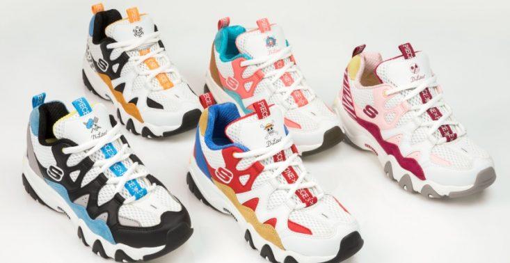 Nowe sneakersy Skechers - połączenie trendu na &quot;dad shoes&quot; i inspiracje japońską mangą<