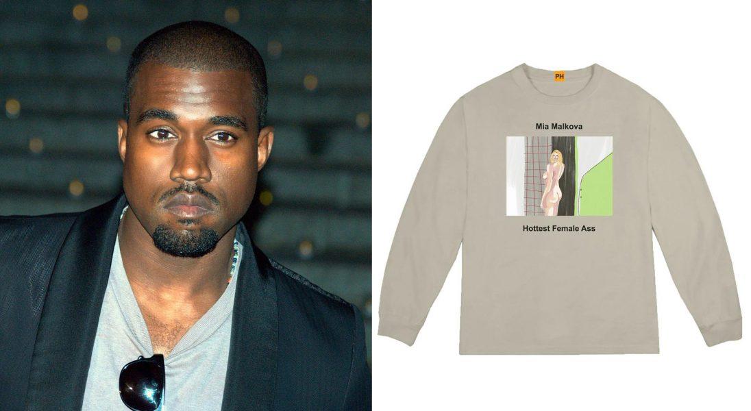 Kanye West wypuścił kolekcję bluz z wizerunkami gwiazd PornHuba