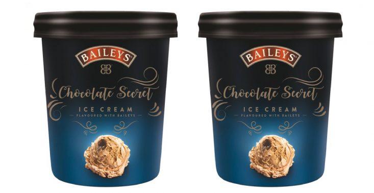 W sklepach pojawiły się lody o smaku likieru Baileys<