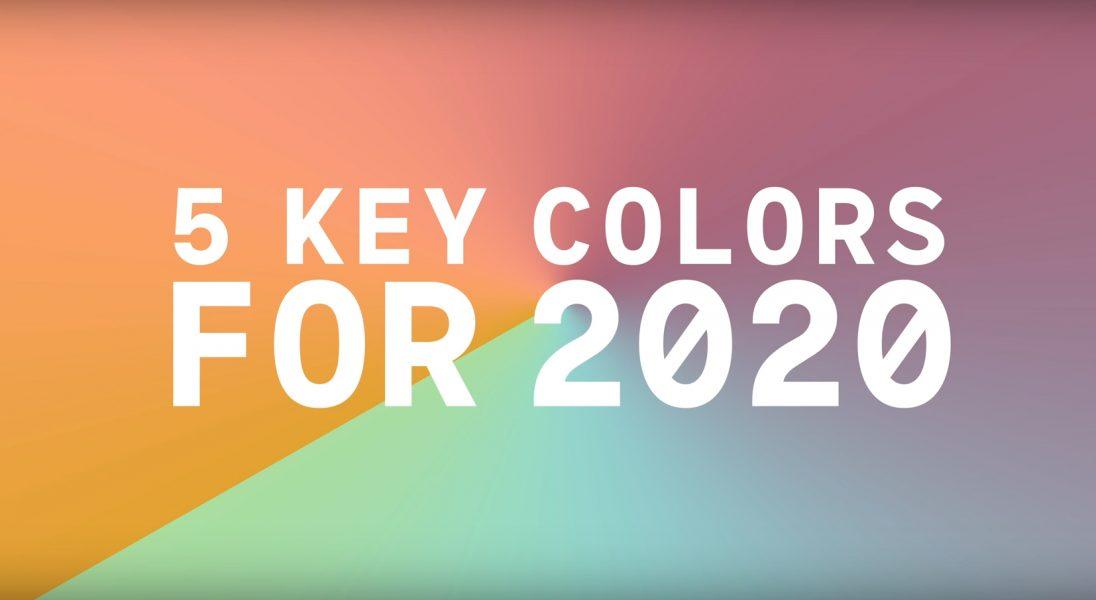 Pożegnajmy Millennial Pink. Oto kolory, które zdominują modę i design w 2020 roku