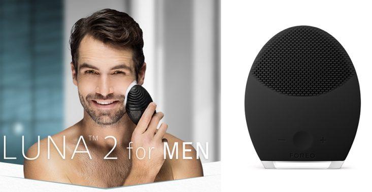 Przygotuj twarz przed goleniem w minutę ze szczoteczką soniczną Foreo LUNA 2 For Men<