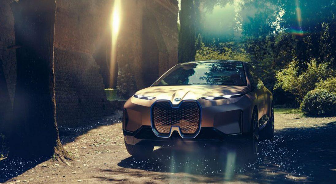 BMW oficjalnie zaprezentowało swój futurystyczny model Vision iNext