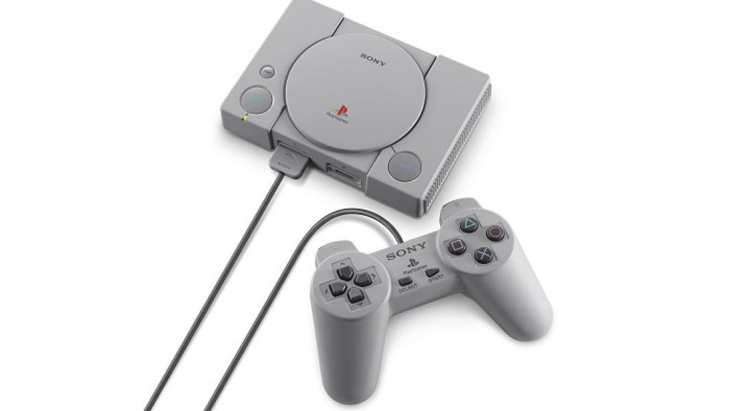 Sony podchwyciło trend na gry retro. Oto PlayStation Classic, czyli mini wersja oryginalnej konsoli