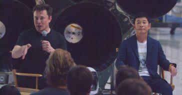 SpaceX wysyła na Księżyc swojego pierwszego pasażera. Będzie nim japoński miliarder