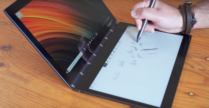 Lenovo stworzyło pierwszy laptop z dwoma ekranami<
