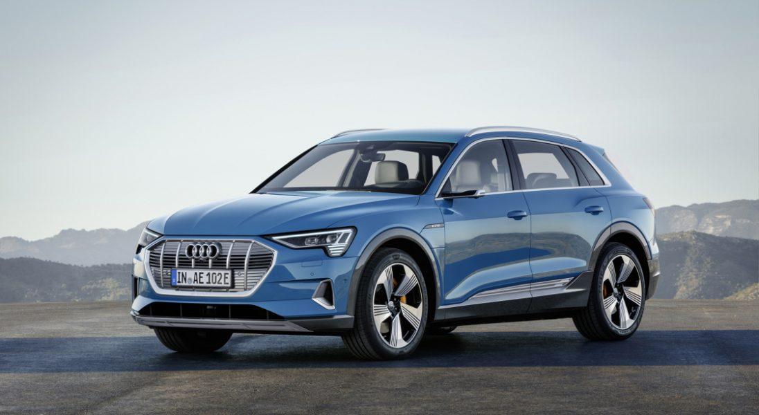 Audi zaprezentowało swojego w pełni elektrycznego SUV-a z serii e-tron