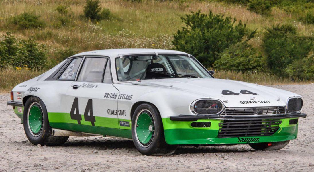 Wyścigowy Jaguar XJ-S z 1976 roku robi takie samo wrażenie jak stylowe klasyki