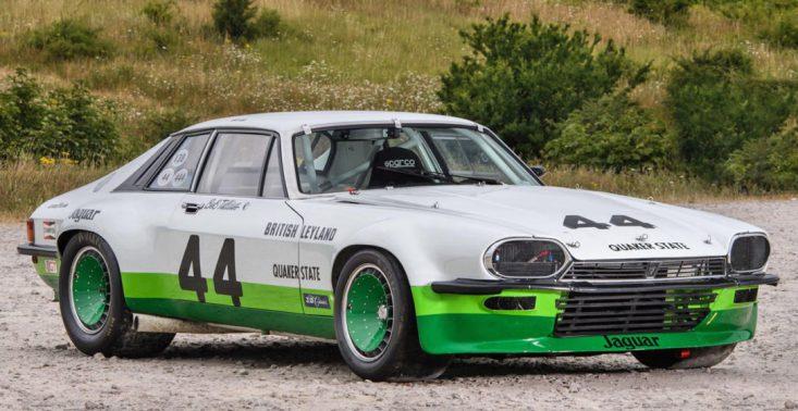Wyścigowy Jaguar XJ-S z 1976 roku robi takie samo wrażenie jak stylowe klasyki<