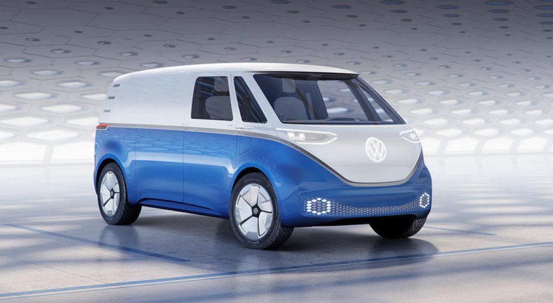 Volkswagen I.D. Buzz - nowe zdjęcia pierwszego elektrycznego Volkswagena Transportera