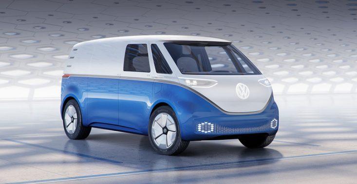 Volkswagen I.D. Buzz - nowe zdjęcia pierwszego elektrycznego Volkswagena Transportera<