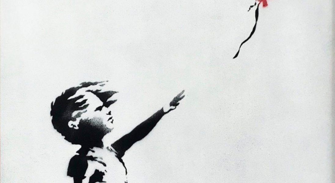 Banksy zniszczył na aukcji swoją własną pracę wartą 1,4 miliona dolarów