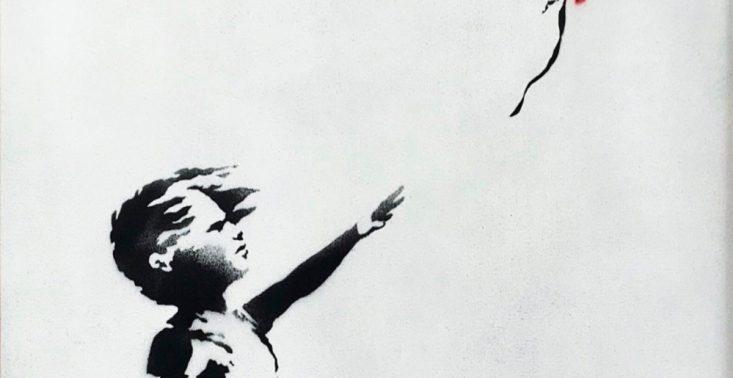 Banksy zniszczył na aukcji swoją własną pracę wartą 1,4 miliona dolar&oacute;w<
