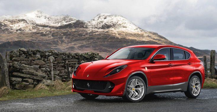 Ferrari Purosangue, czyli pierwszy SUV włoskiego producenta<