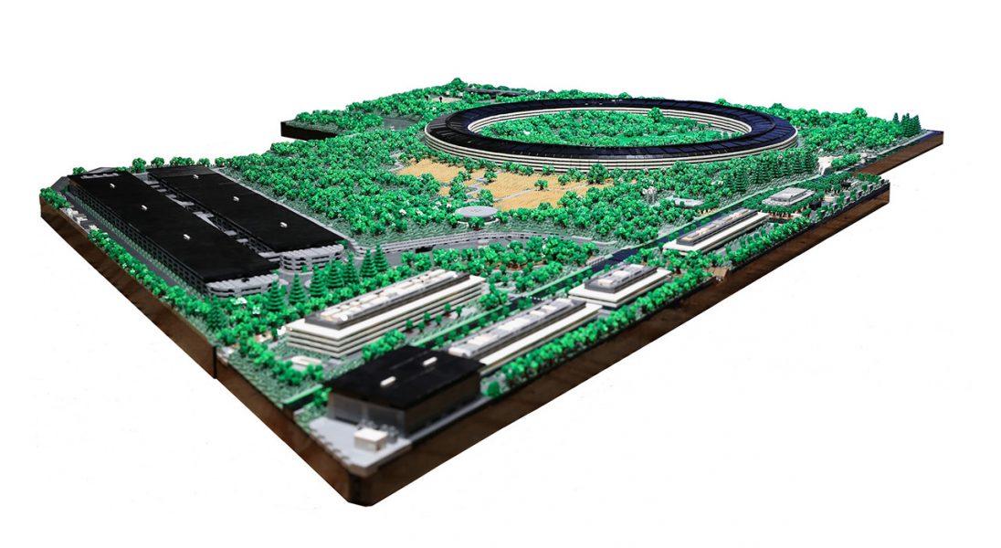 Zobaczcie niezwykle realistyczny model siedziby Apple zbudowany z klocków LEGO