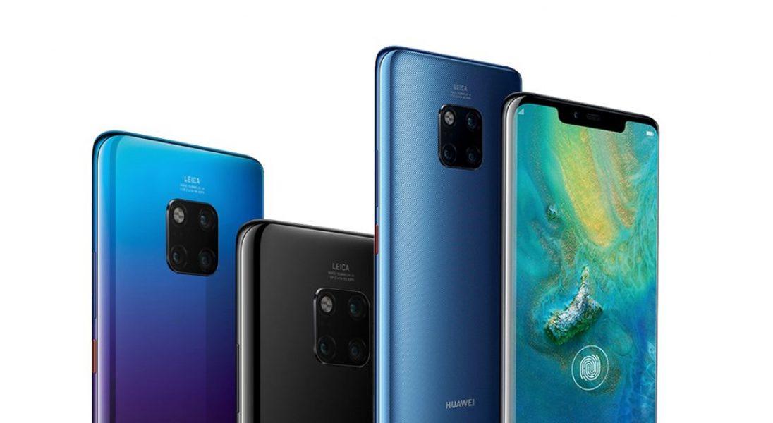 Huawei zaprezentował nowe modele smartfonów Mate 20 i Mate 20 Pro