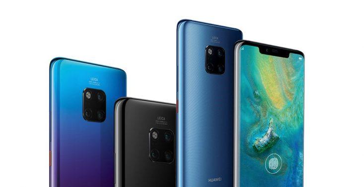 Huawei zaprezentował nowe modele smartfon&oacute;w Mate 20 i Mate 20 Pro<