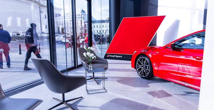 W stolicy ruszył wirtualny salon Audi<
