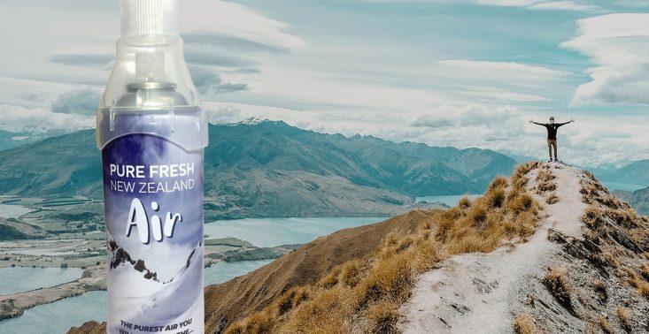 Świeże powietrze Nowej Zelandii zamknięte w puszcze? Produkt można kupić w kosmicznej cenie na lotniskach<