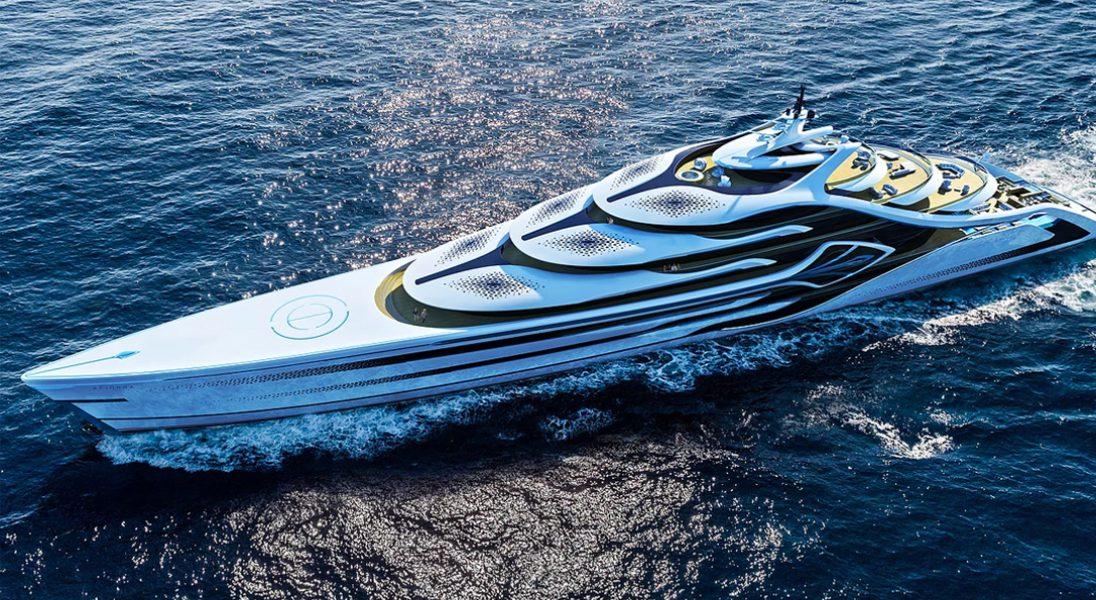 Projekt megajachtu Acionna to definicja luksusu