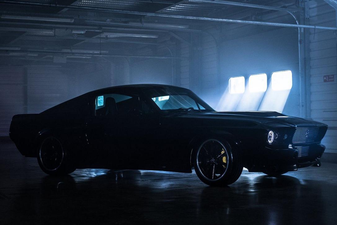 Mustangów z lat 60 fot charge car
