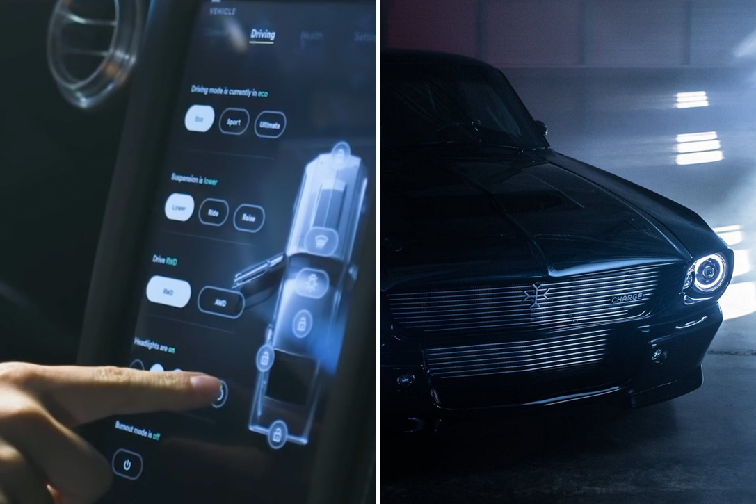 Fot charge car zobacz też pięknie odrestaurowany ford mustang shelby z