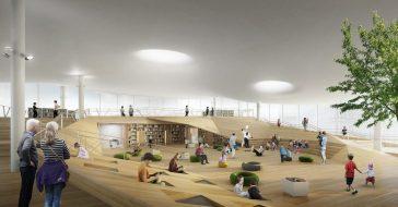 Z okazji 100-lecia niepodległości w Finlandii wybudowano nowoczesną bibliotekę