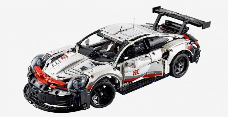 1580-częściowy zestaw LEGO, z kt&oacute;rego zbudujesz Porsche 911 RSR<