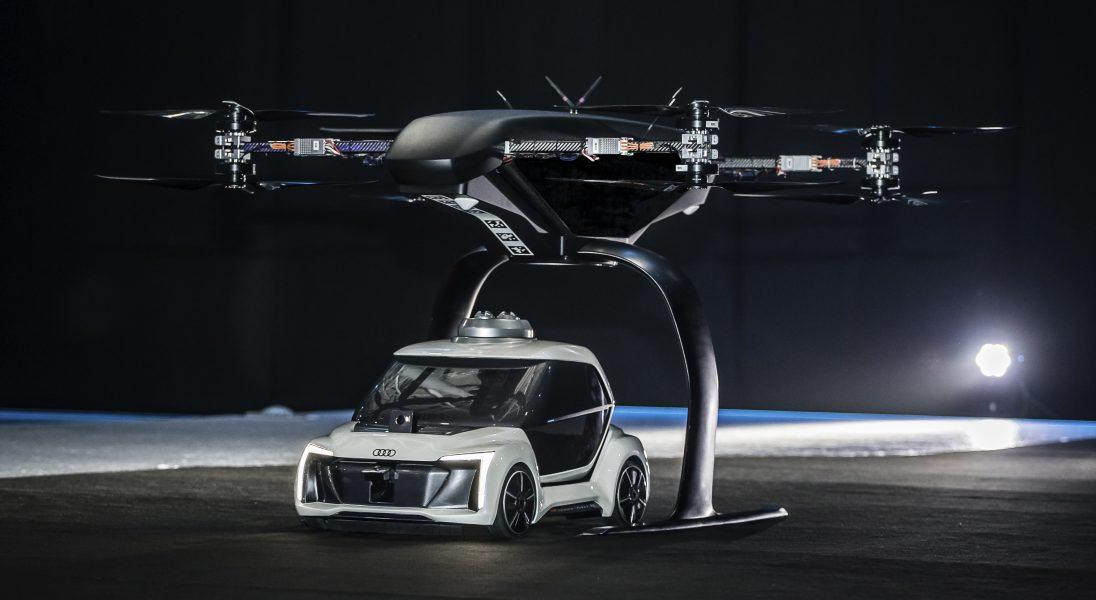 Audi, Airbus i Italdesign testują koncepcję latającej taksówki