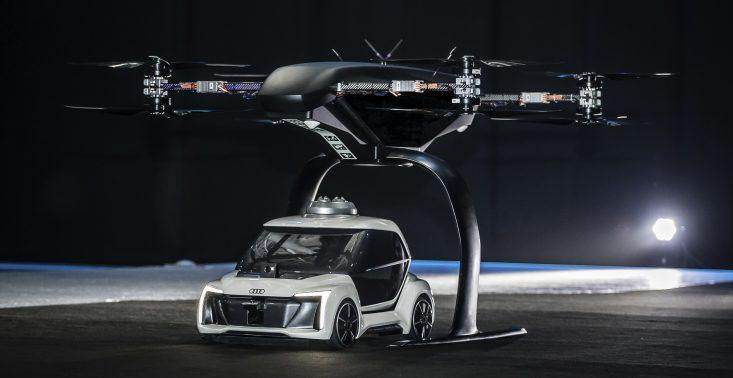 Audi, Airbus i Italdesign testują koncepcję latającej taks&oacute;wki<
