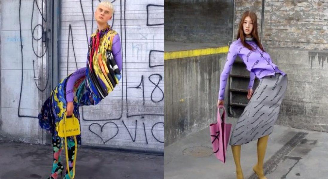 Balenciaga torturuje wirtualnych influencerów w najnowszej kampanii na Instagramie