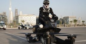 Technologia wkracza w zastępy policji. Mundurowi testują hoverbikes