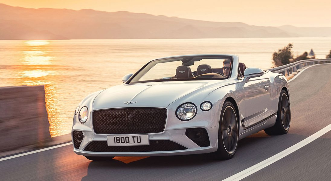 Bentley prezentuje model Continental GT Convertible