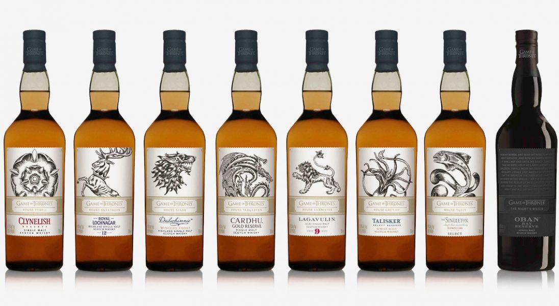 """Must have dla fanów """"Gry o tron"""" - wyjątkowa kolekcja whisky z herbami serialowych rodów"""