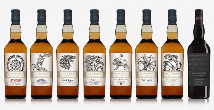 Must have dla fan&oacute;w &quot;Gry o tron&quot; - wyjątkowa kolekcja whisky z herbami serialowych rod&oacute;w<